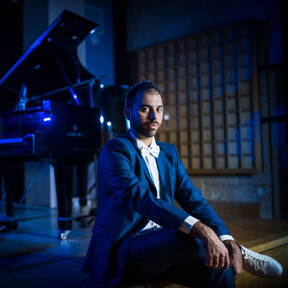 Leonardo the Space Pianist Interview on Nagamag