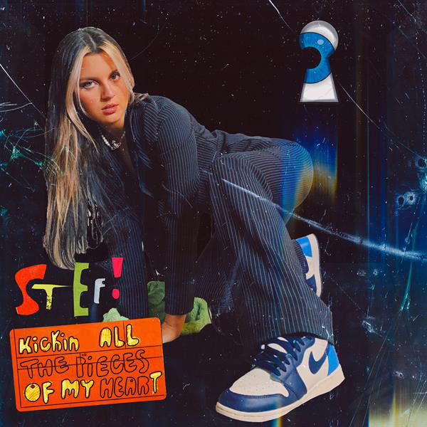 stef – kickin all the pieces of my heart. (Spotify)