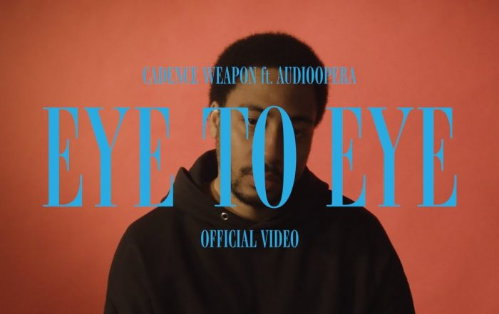 Cadence Weapon - Eye To Eye [Official Music Video] (Video), Hip-Hop music genre, Nagamag Magazine