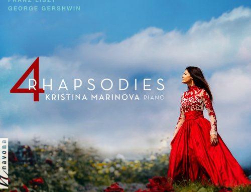 Erno Dohnányi x Kristina Marinova – 4 Rhapsodies, Op. 11: No. 2, Adagio capriccioso (Spotify)